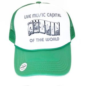 Accessories - Austin Live Music Capital of the World Trucker Hat